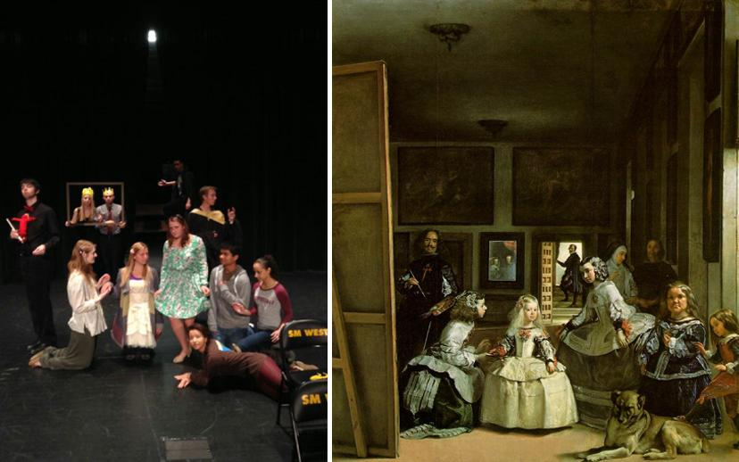 the painting las meninas essay Using their contrasting interpretations of velázquez's painting, las meninas  ''the other side of the canvas'' discovers a great pictorial essay.