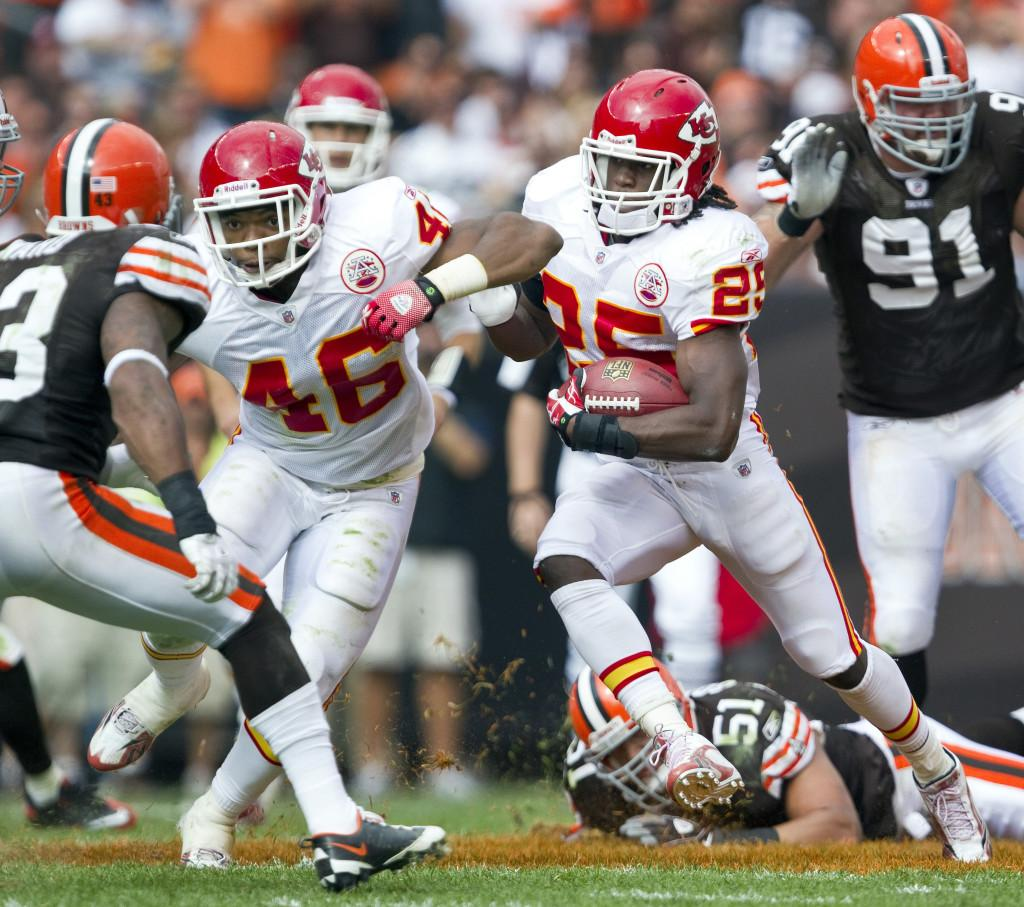 Chiefs at Browns
