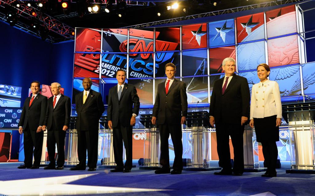 Republican Presidential Candidates Debate In Las Vegas