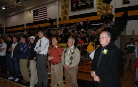 Basketball Program Holds 50th Anniversary Ceremony