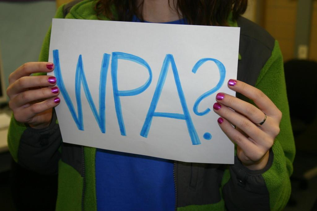 How To Ask A Guy To WPA