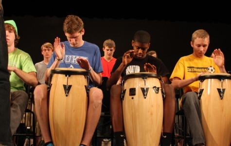 Drumline Prepares For 5th Annual Drum Show