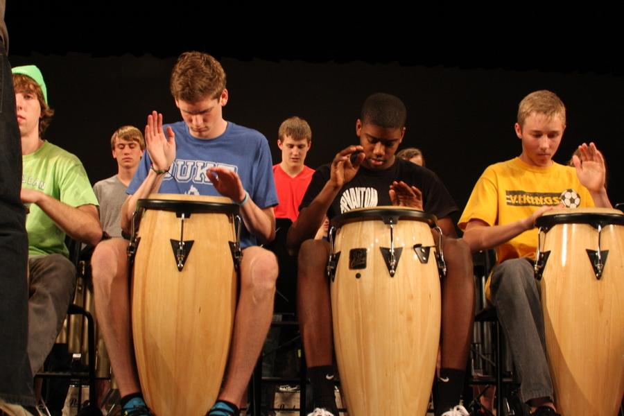 Drumline Prepares For 5th Annual Drum Show
