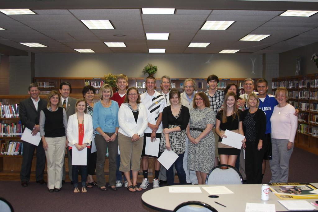 Ten Seniors Honored with PTSA Scholarship