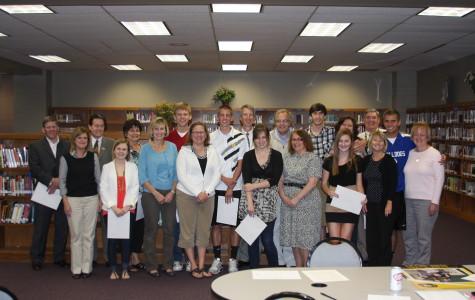 Ten Seniors Honored with PTSA Scholarship