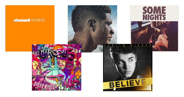 Top 5 Albums of Summer 2012