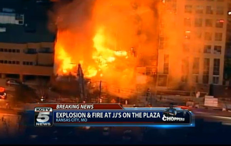 Country Club Plaza Explosion Results In 14 Injuries