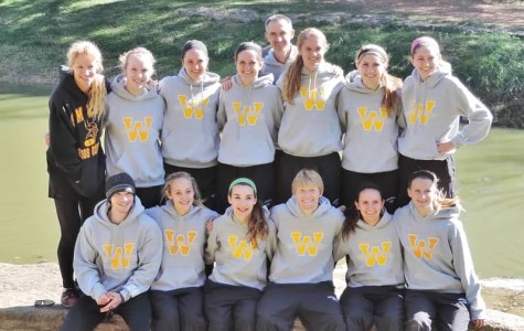 The state teams after the meet at Rim Rock