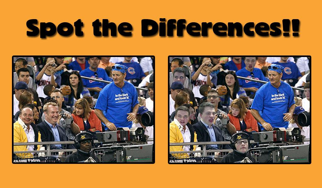 Can you spot all of the differences? *Hint: there are 11