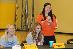 Taylor Yates signed to play soccer at Baker.