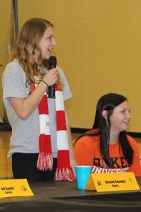 Rachel Krueger signed to play soccer at Drury.
