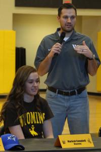 Marleah Campbell signed to play basketball at Wyoming.