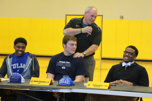 Austin Chambers signed to play football at BYU.