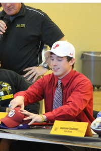 Cooper Arner signed to play football at William Jewell.