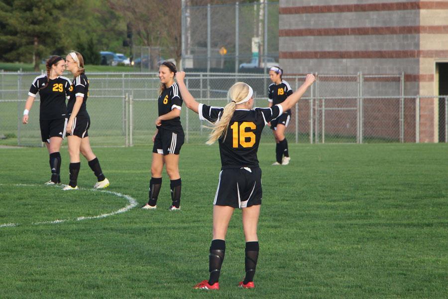 Gallery: Girl's Soccer vs. SMNorth