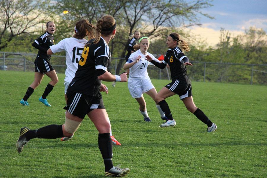 Gallery: Girl's Soccer vs. SMEast