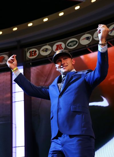 Johnny football is headed to Cleveland
