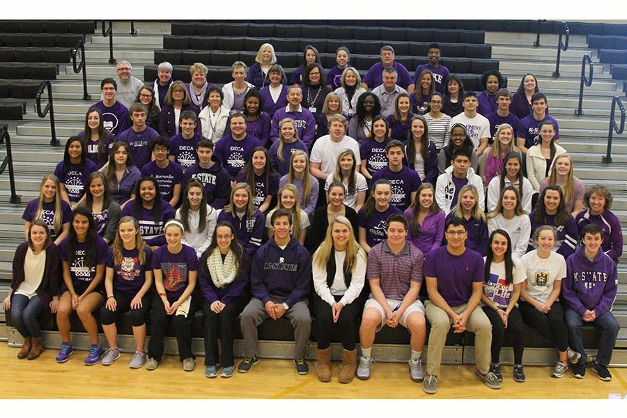 West Wears Purple for Blake