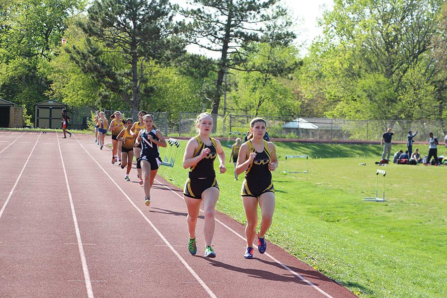 Shawnee Mission West Invitational JV Track Meet