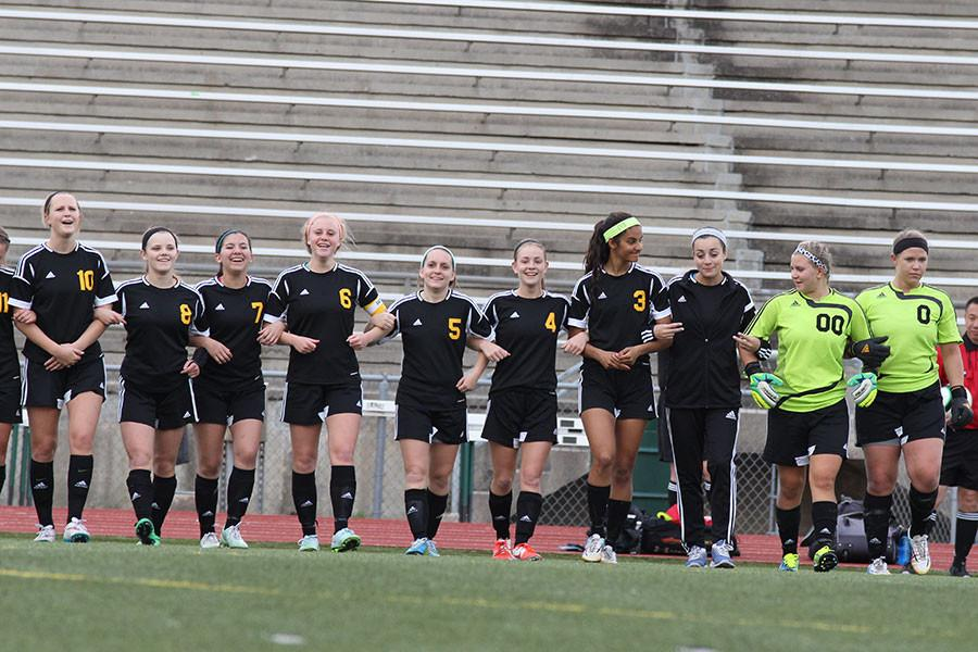 Gallery: Girl's Soccer vs. SM South