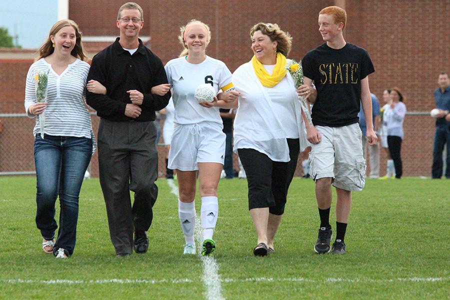 Gallery: Girl's Varsity Soccer Senior Night