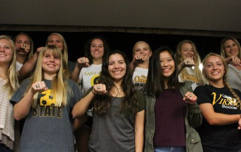 Girls Soccer State Champion Ring Ceremony