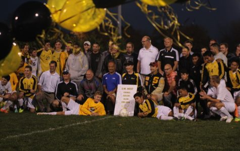 Boys Soccer Celebrates Senior Night