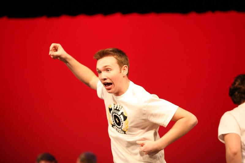 Drake Mattis dancing to