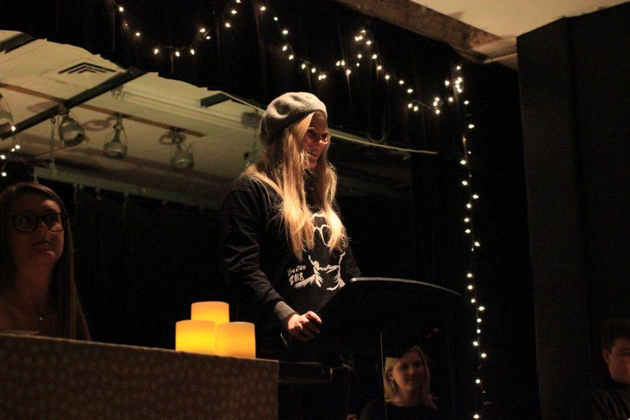 Maren Burkhart performs