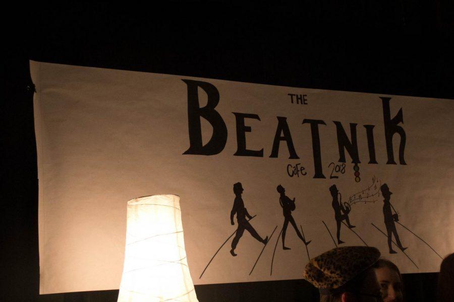 The 2018 Beatnik Cafe sign.